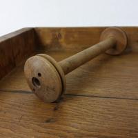 2 bobine en bois
