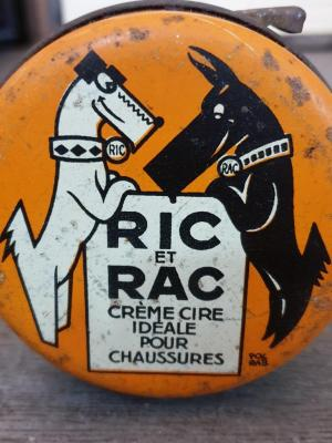 Boite de cirage Ric & Rac