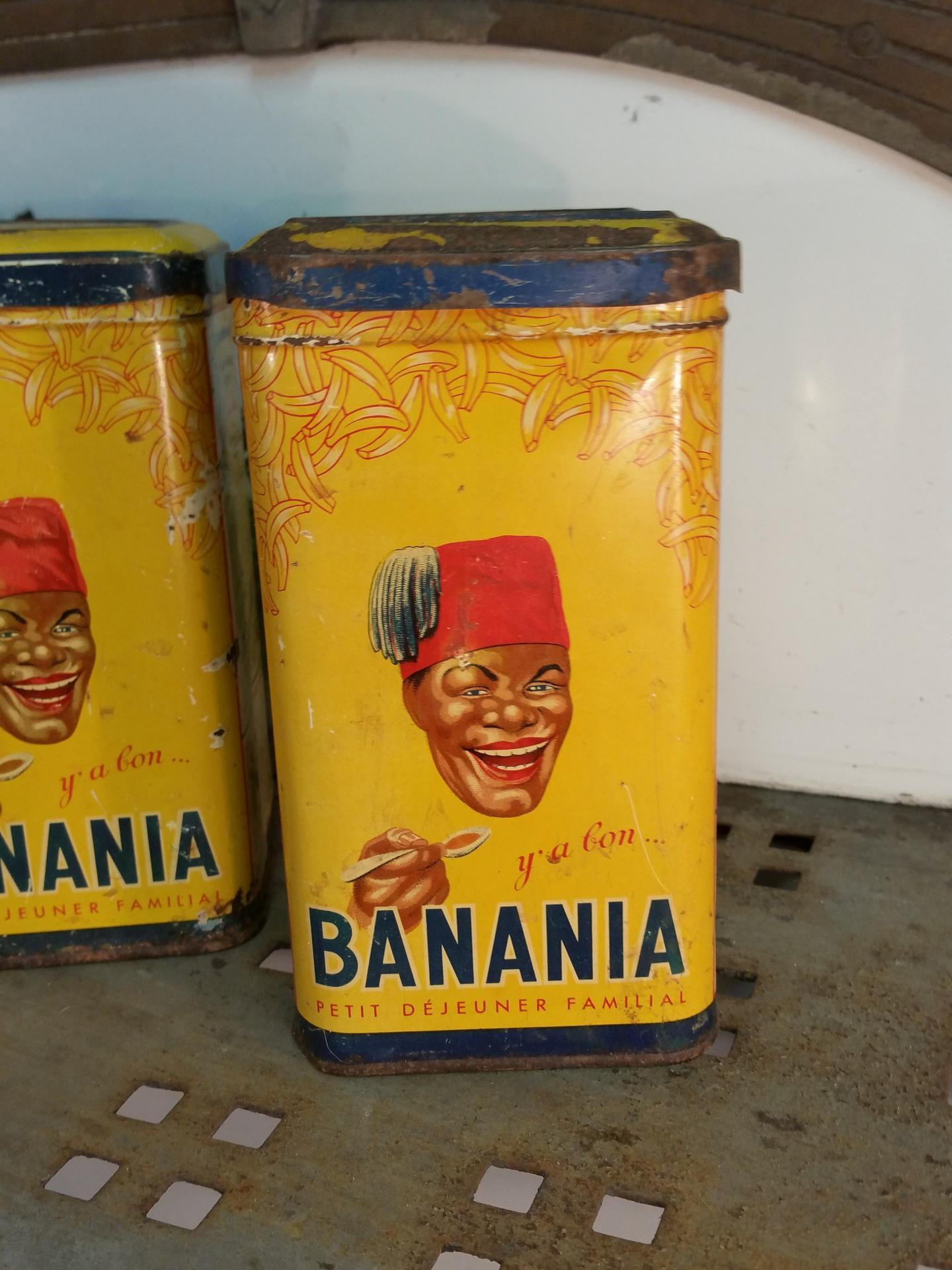 2 boites de banania