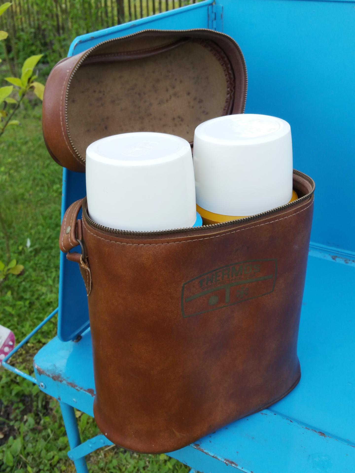 2 bouteilles thermos