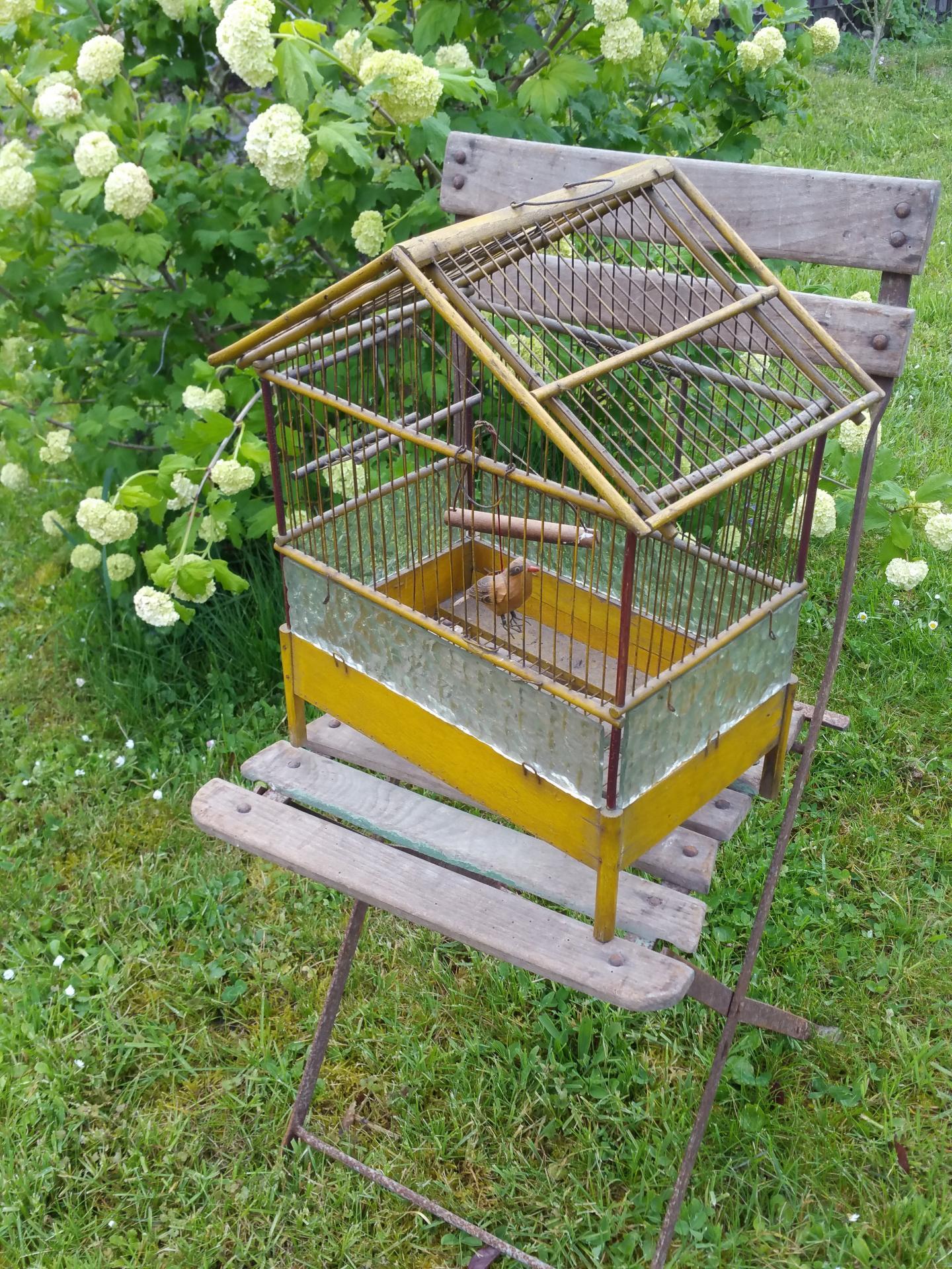 2 cage a oiseau