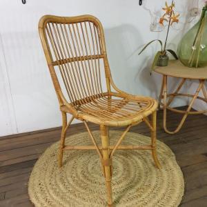 2 chaise en rotin