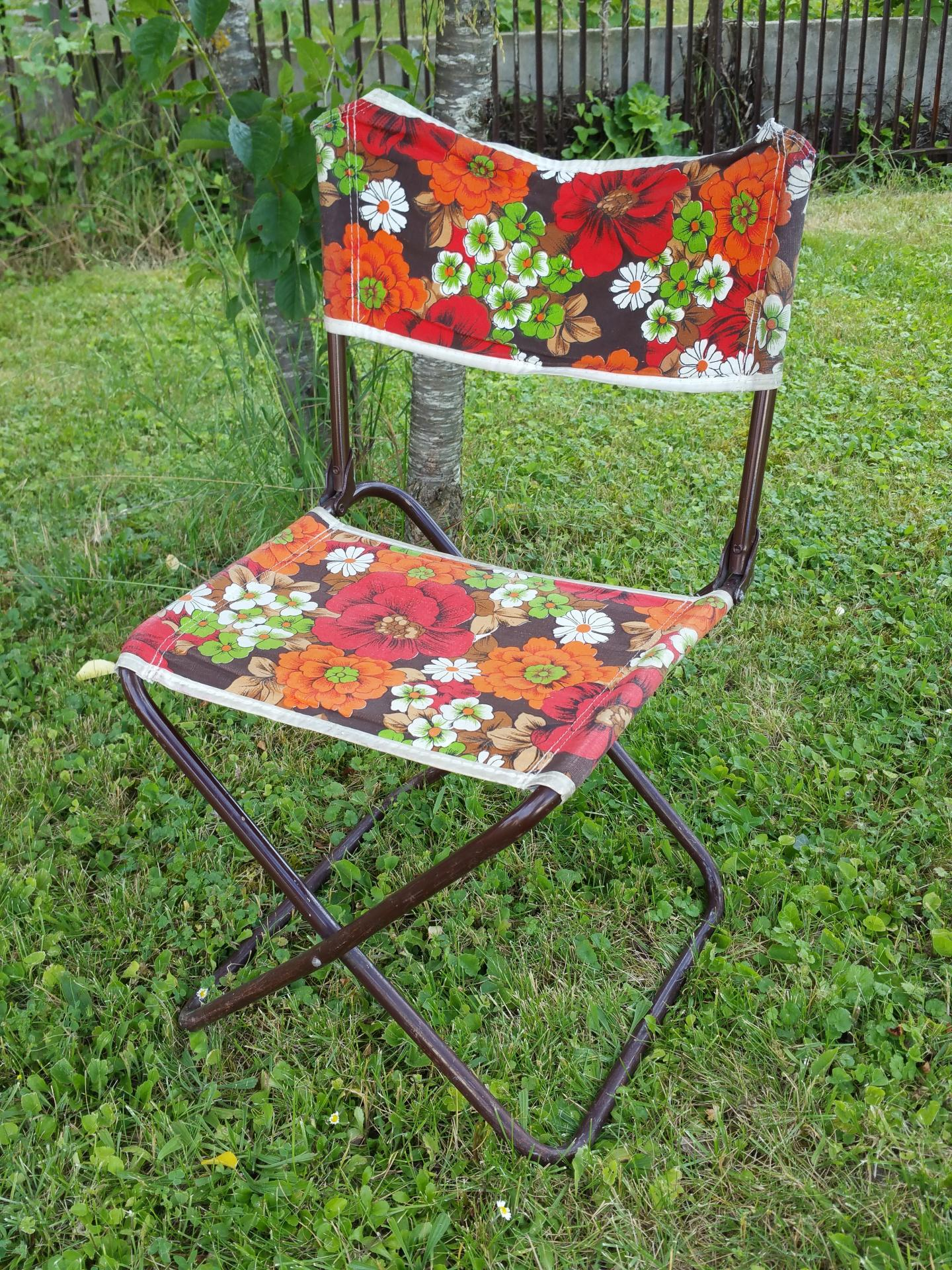 2 chaise pliante de camping