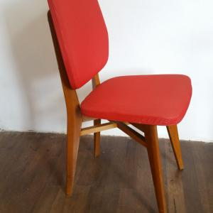 2 chaise rouge