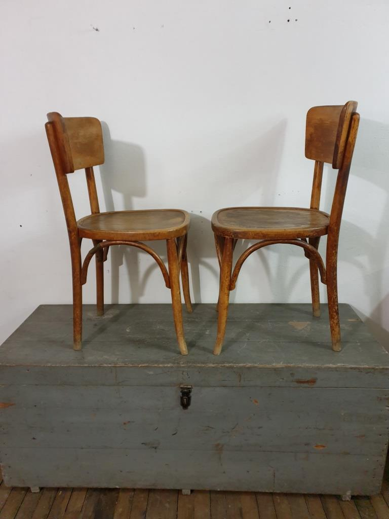 2 chaises bistrot paire 2