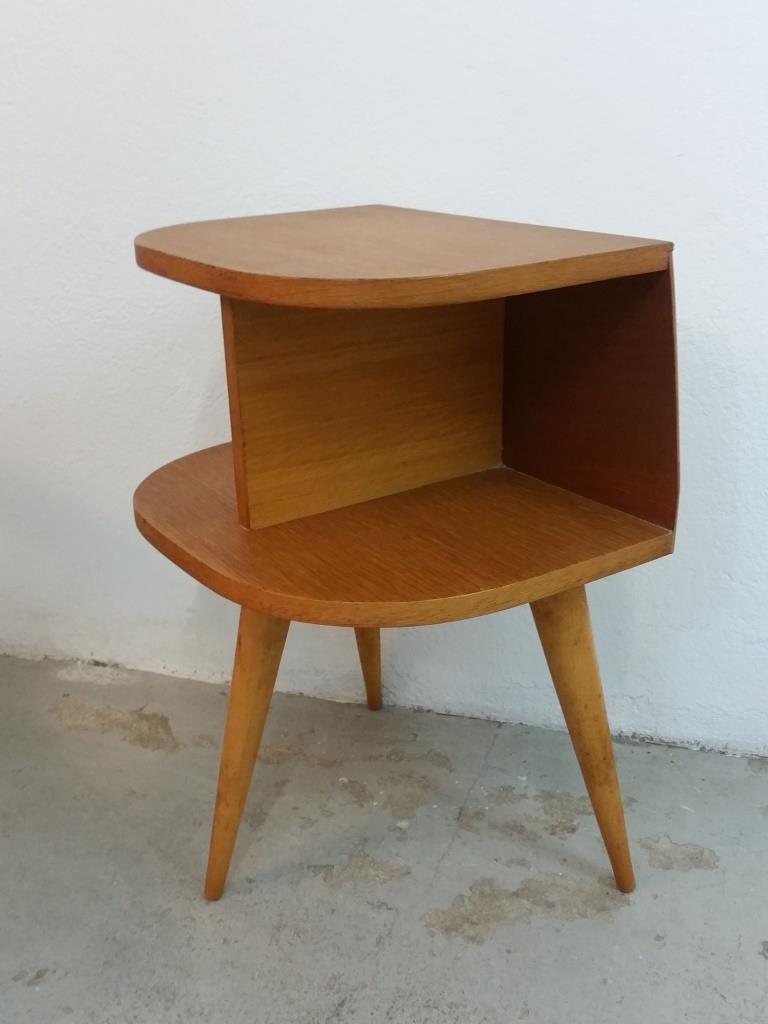 Tripode Bout De Chevet Vintage Table Canapé tshQdCr
