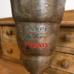 2 coupe biere phenix