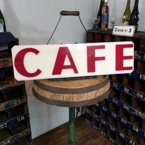 2 enseigne de cafe