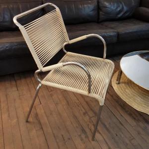 2 fauteuil scoubidou