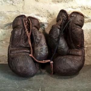 2 gants de boxe