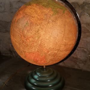 2 globe terrestre lumineux perrina