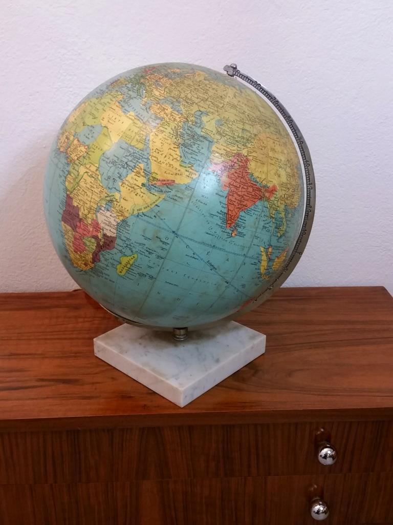 2 globe terrestre lumineux taride