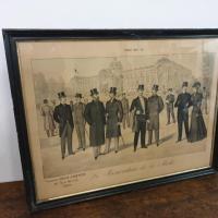 2 grand tableau le renovateur de la mode 1899