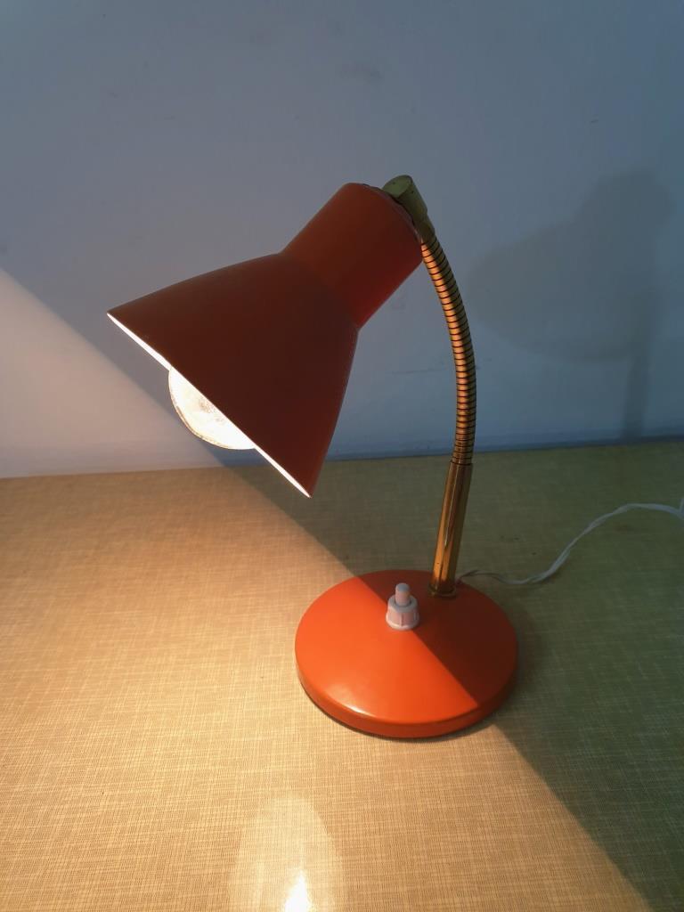 2 lampe cocotte orange