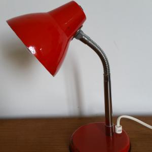 2 lampe cocotte rouge
