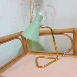 2 lampe cocotte verte pastel