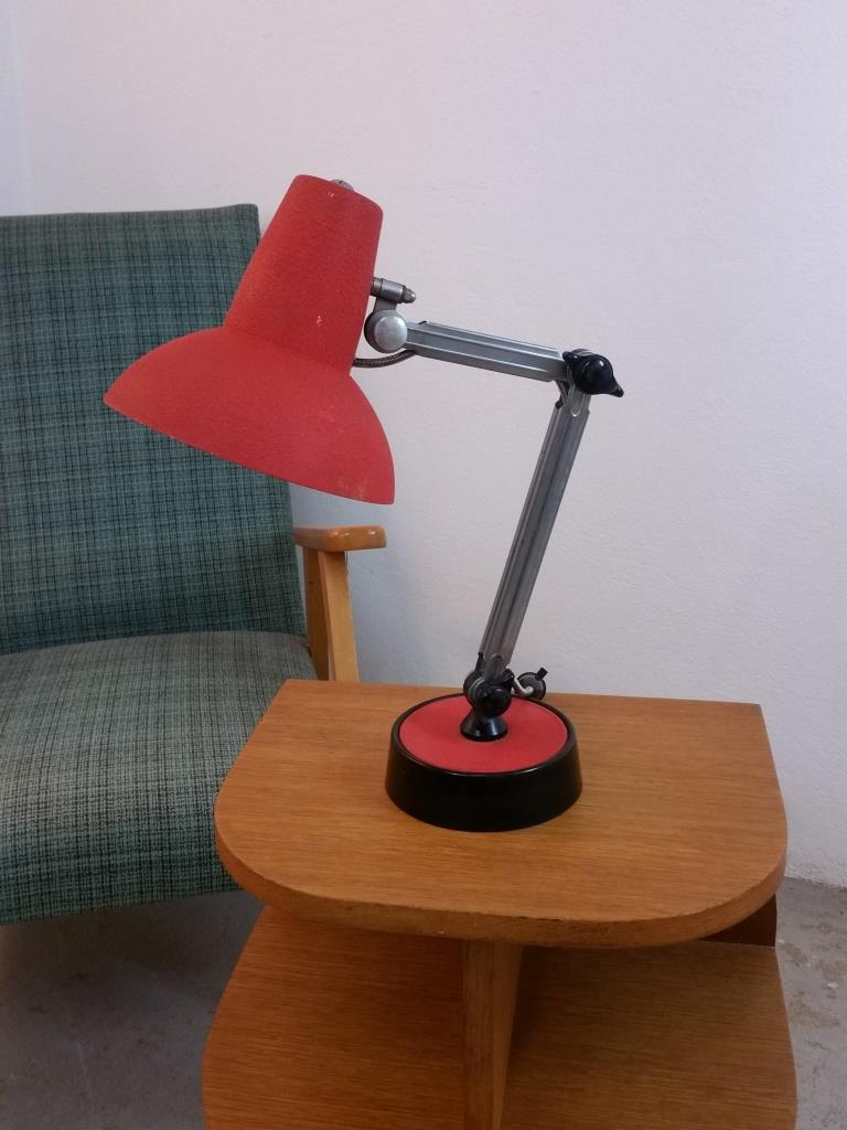 2 lampe de bureau chrome