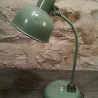 2 lampe de bureau verte
