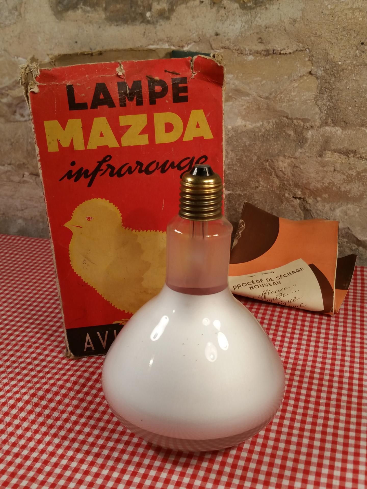 Ampoule infrarouge mazda lampe infrarouge - Lampe infrarouge cuisine ...