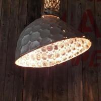 2 lampe holophane verre mercurise