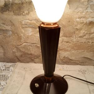 2 lampe jumo art deco