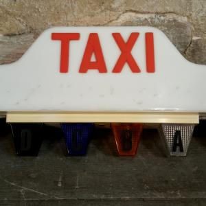 2 lampe taxi