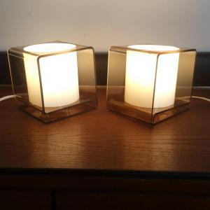 2 lampes plexi