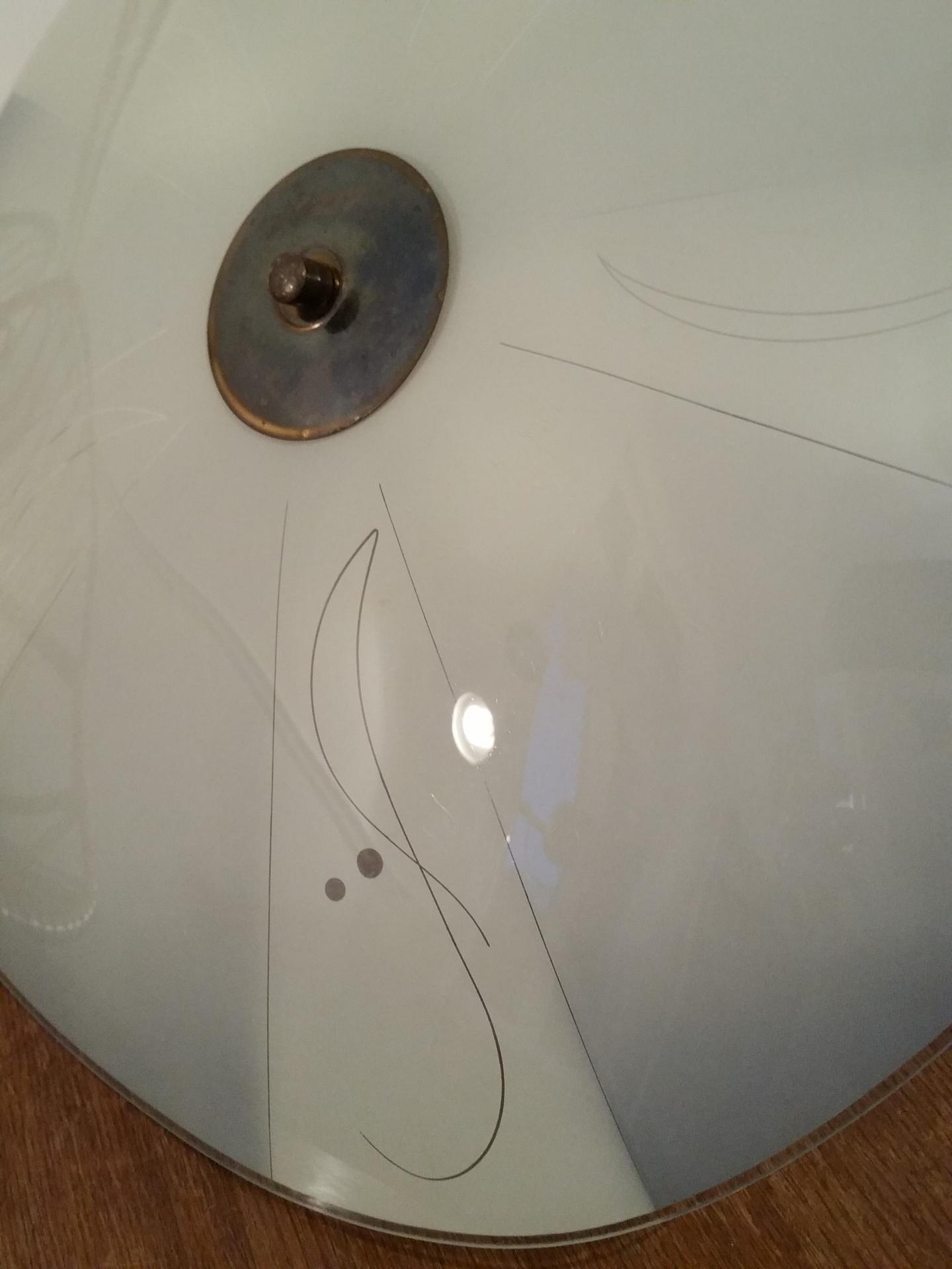2 lustre vasque 50