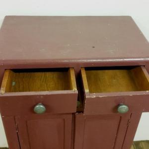 2 meuble 3 tiroirs 2 portes