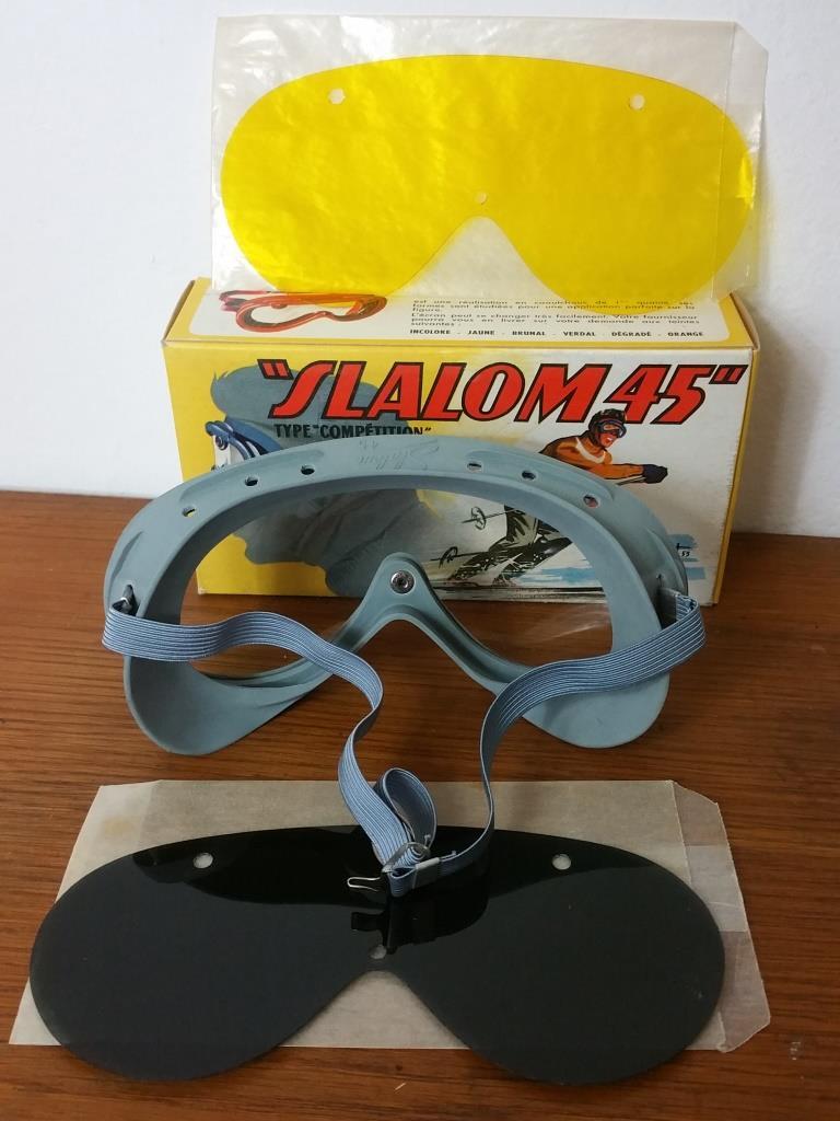 2 paire de lunettes de ski moto