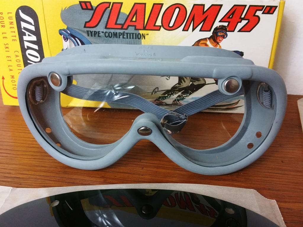 2 paires de lunettes de ski moto