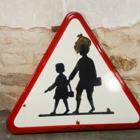 2 panneau signalisation attention ecole