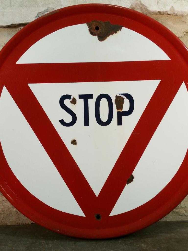 2 panneau stop