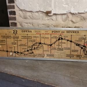 2 plan de ligne de bus de paris