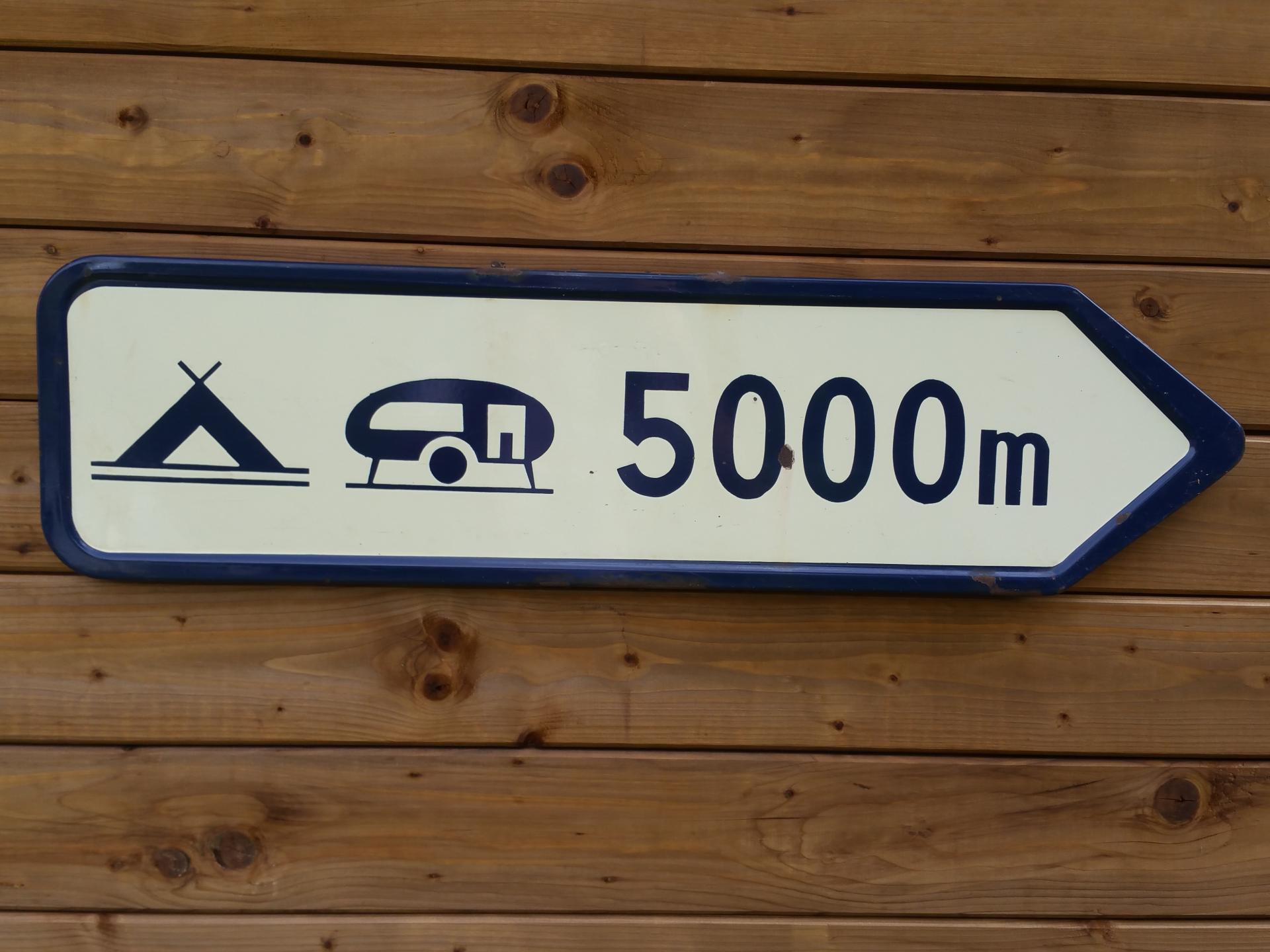 2 plaque camping 5000m
