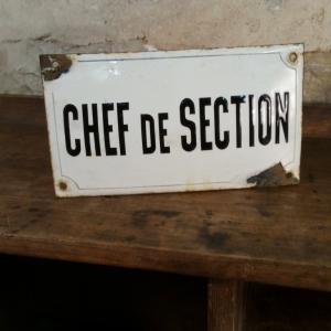 2 plaque chef de section
