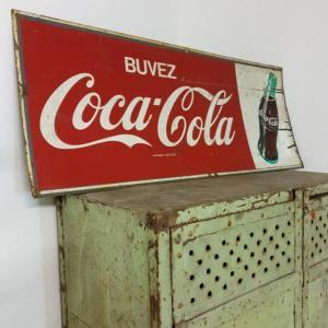 2 plaque coca cola