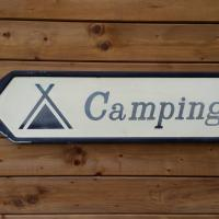2 plaque de camping