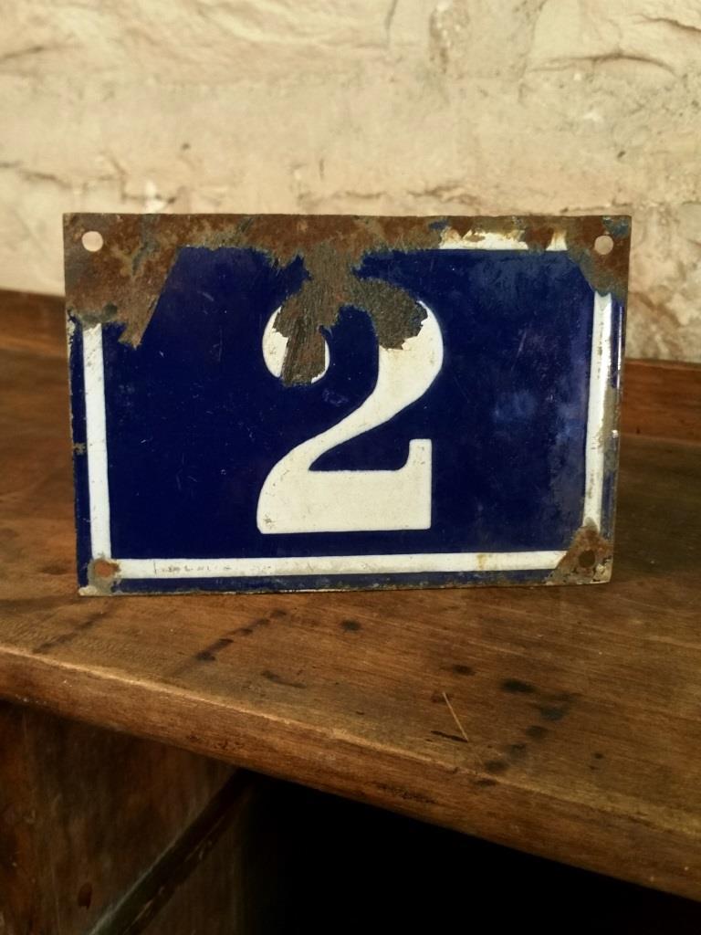 2 plaque de n de rue n 2