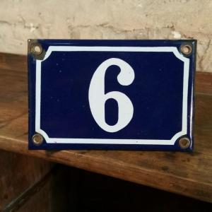2 plaque de rue n 9