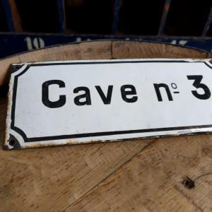 2 plaque emaillee caven 3