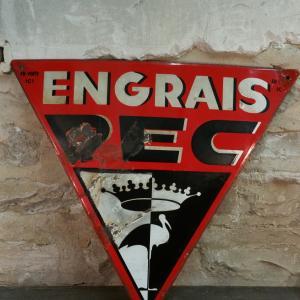 2 plaque emaillee pec