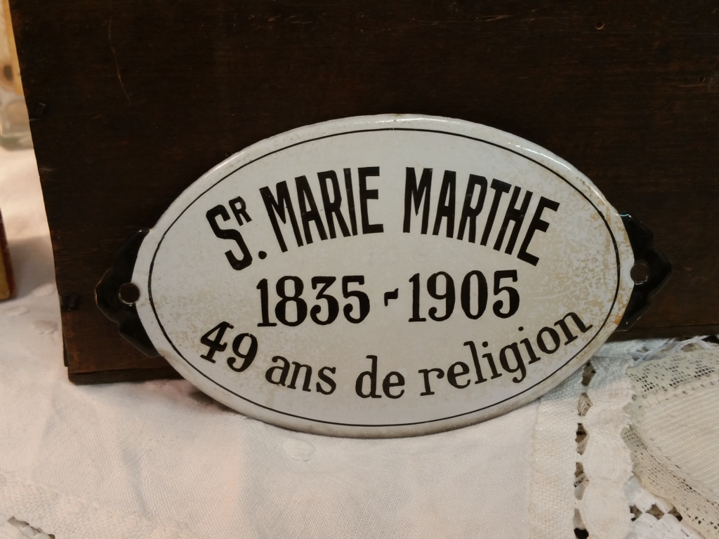 2 plaque emaillee ste marie