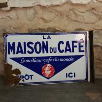 2 plaque maison du cafe
