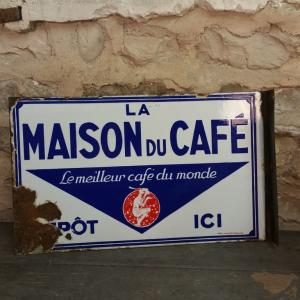 2 plaque maison du cafe