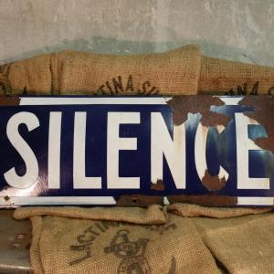 2 plaque silence