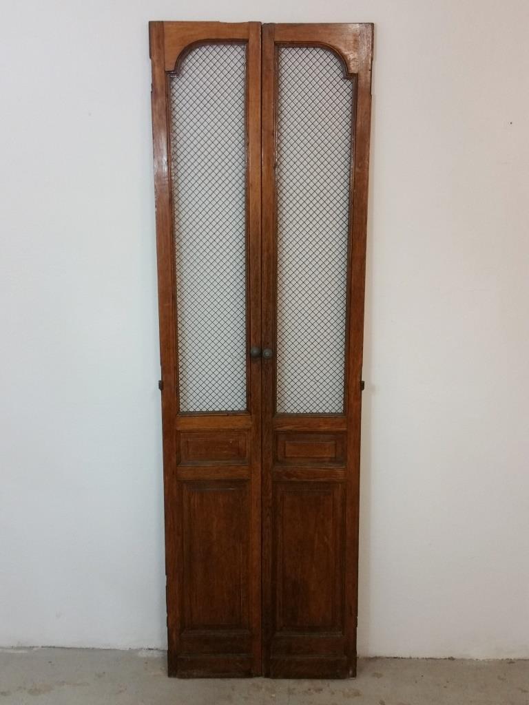 2 portes de cabine d ascenseur
