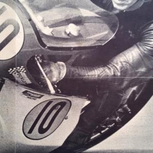 2 poster moto noir et blanc