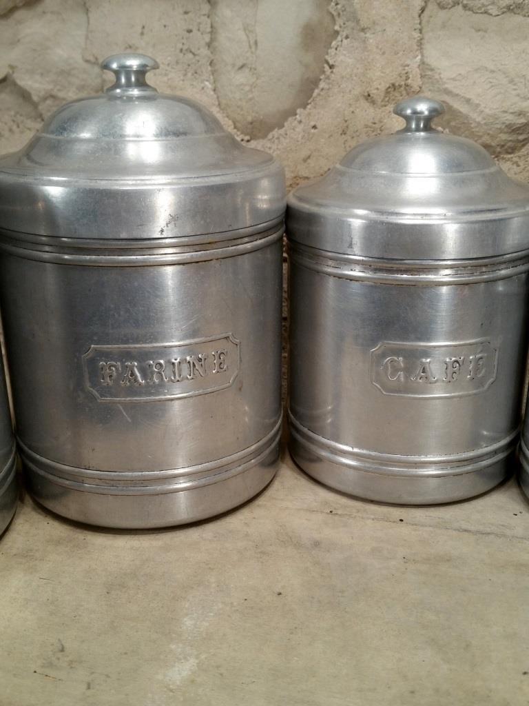 2 serie de pots alu