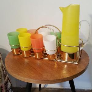 2 service a orangeade 8 verres